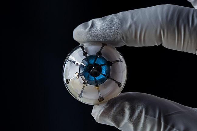 Bionic eye prototype