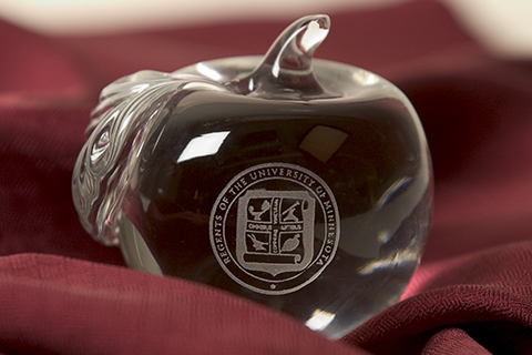 Campus Identity symbol glass apple