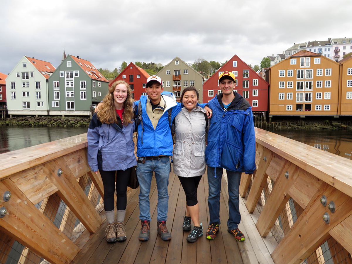 Students abroad in Norway