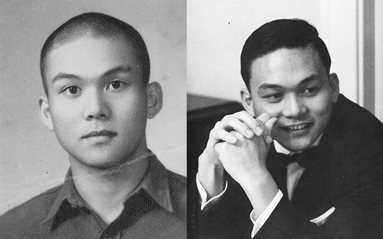 Two images of Tu Chen