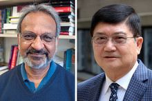 Headshot photos of Ned Mohan and David Pui