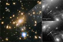 telescope images of farthest star